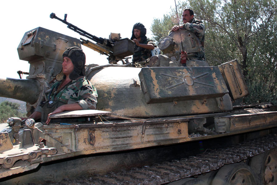 Сирийская армия выбила боевиков из пригородов Дамаска