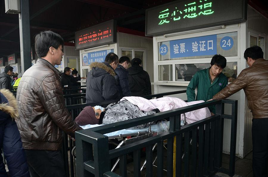 Пекинский воздух грозит госпитализацией