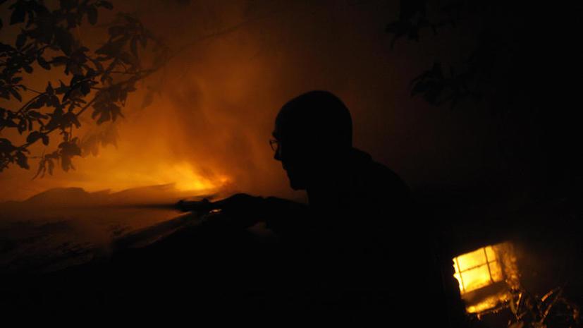 Полицейский из Тульской области при пожаре спас семью пенсионеров и их сына-инвалида