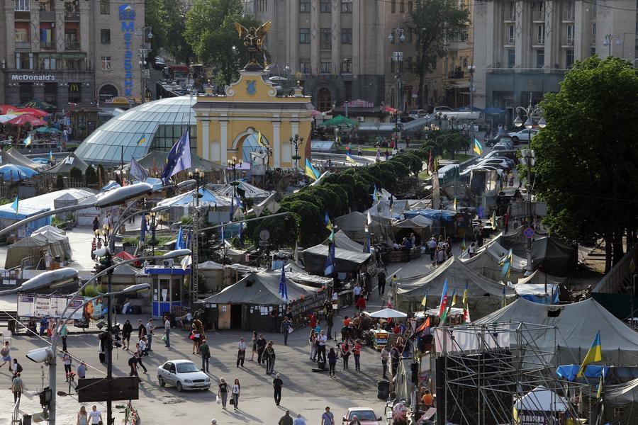 МВД Украины: Активисты Майдана занимаются рэкетом