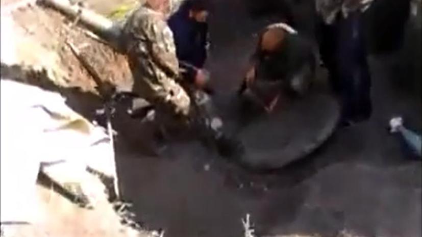 Пьяные украинские военные попытались открыть огонь по российской территории