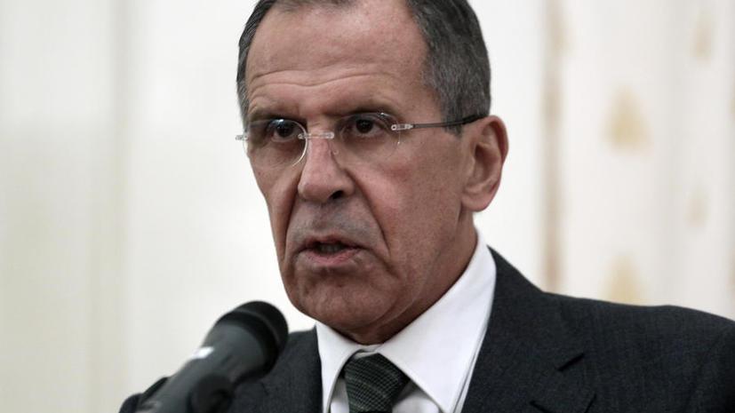 Сергей Лавров: Россия не намерена вводить визы для граждан Украины