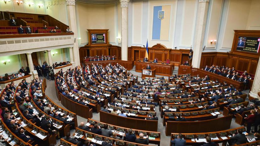На Украине во втором чтении одобрен закон, который даёт возможность интернировать граждан России