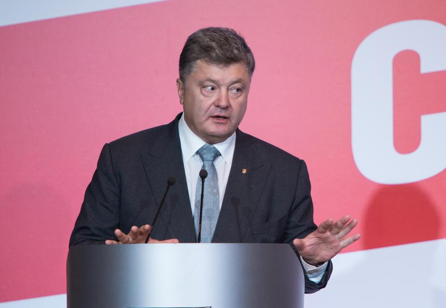 Пётр Порошенко: Мы переходим от режима прекращения огня к режиму перемирия в Донбассе