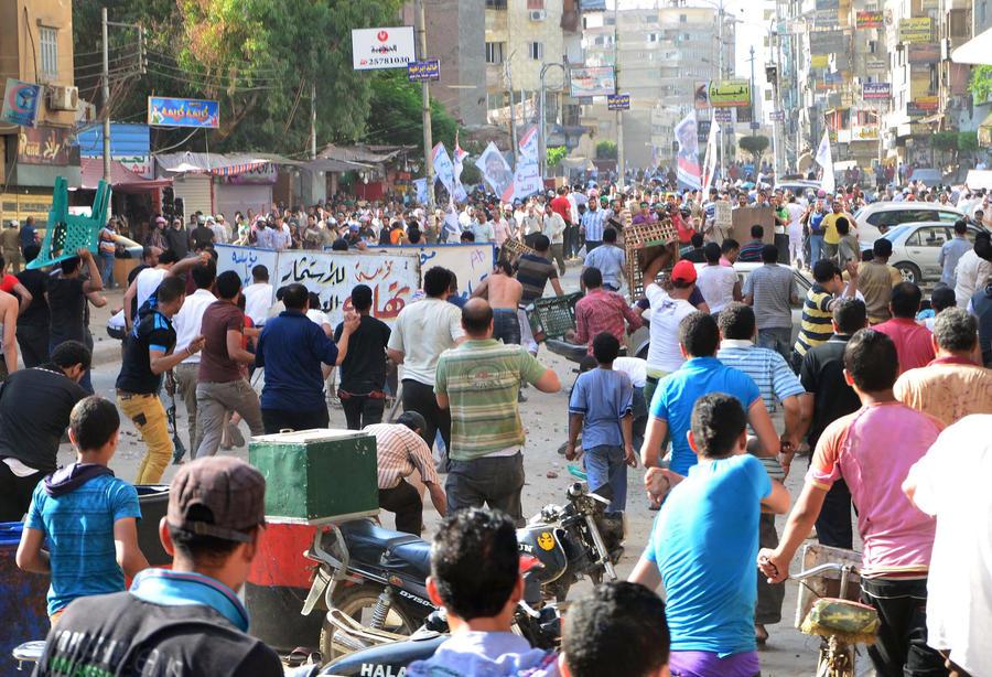 В Египте атакован офис «Братьев-мусульман», есть жертвы