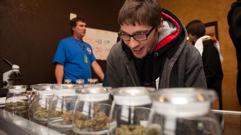 Годовой оборот марихуаны в штате Колорадо составил 130 тонн