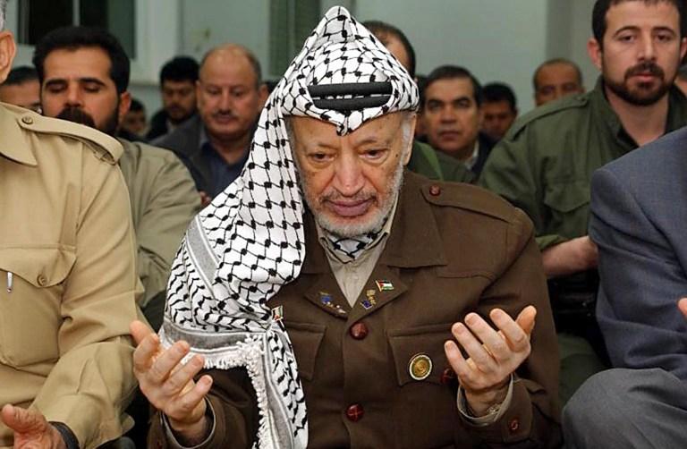 Палестинские власти перезахоронили Ясира Арафата