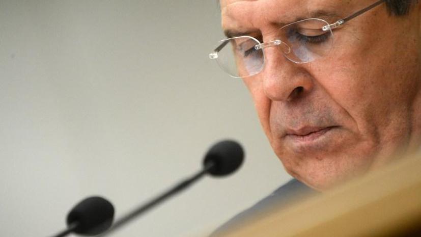 Сергей Лавров:  Россия не занимается сменой правительств и режимов других стран