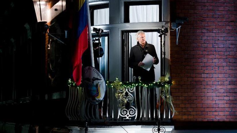 СМИ: Джулиан Ассанж может навсегда остаться в посольстве Эквадора