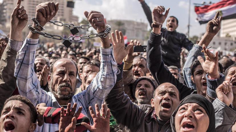 Жители египетских городов вышли на массовые акции протеста