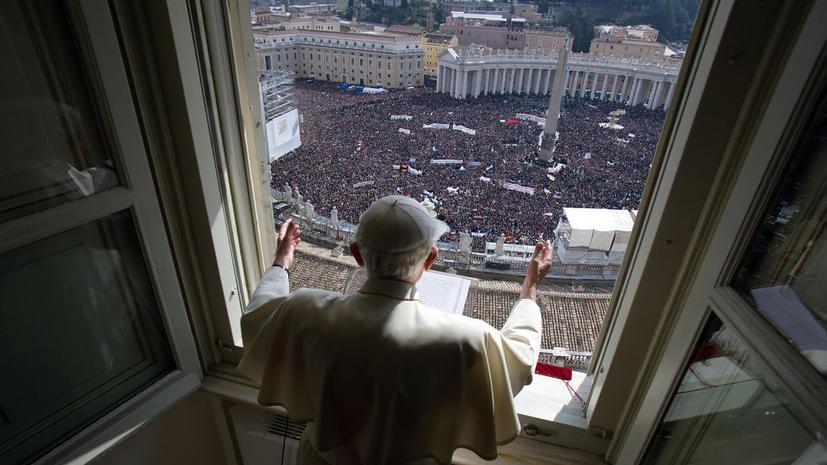 Папа римский изменил правила избрания нового понтифика