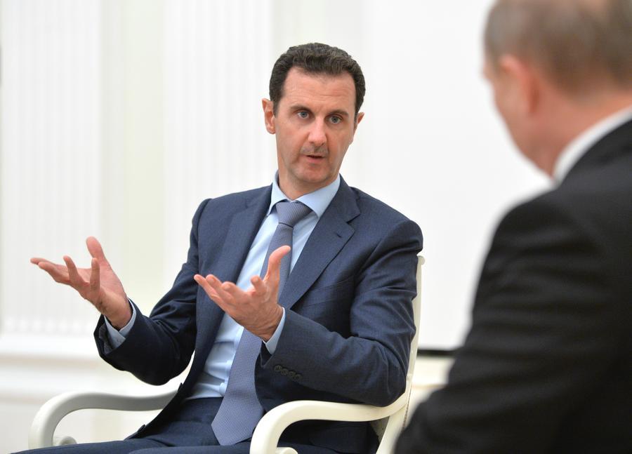 Башар Асад: Ситуация в Сирии улучшилась благодаря операции ВКС России против террористов