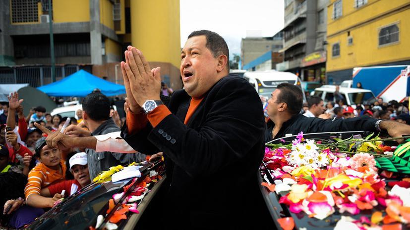 Венесуэльцы молятся за больного Чавеса