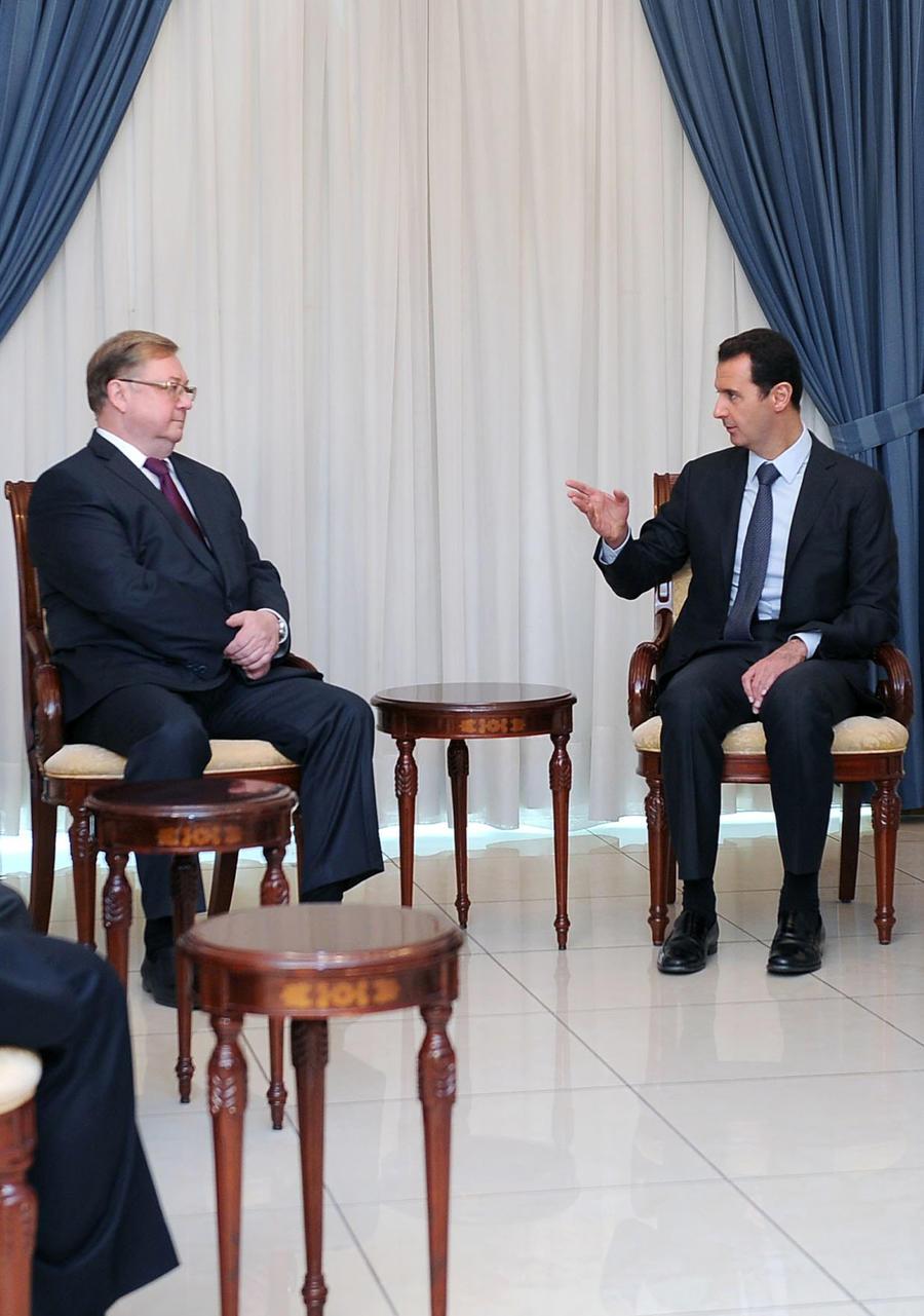 Башар Асад: Я не Янукович