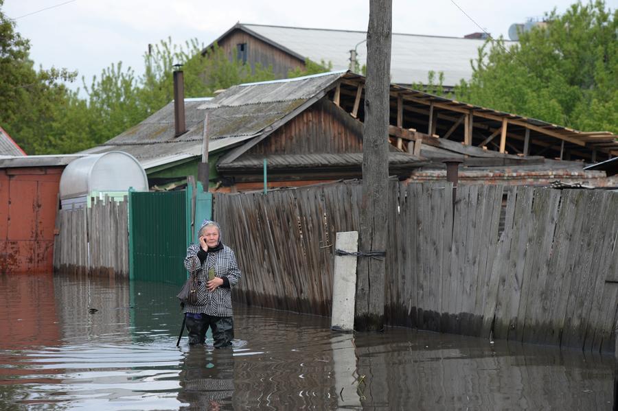 МЧС: Сложная паводковая обстановка сохраняется в трёх регионах Сибири