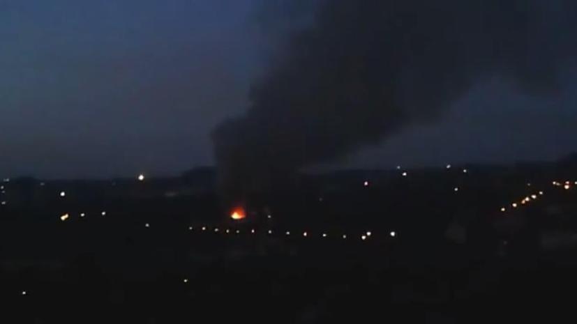 Арсен Аваков заявил, что склад боеприпасов в Донецке был подорван по его приказу