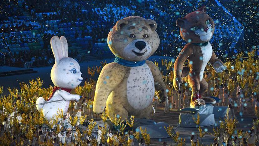 Церемония закрытия Олимпийских игр в Сочи: поминутный репортаж