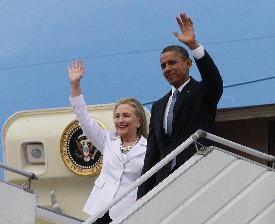 Барак Обама узнал из СМИ, что Хиллари Клинтон использовала личную почту для деловой переписки