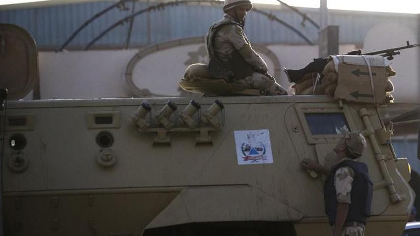 Египетская армия выбила боевиков-исламистов из города на юге страны