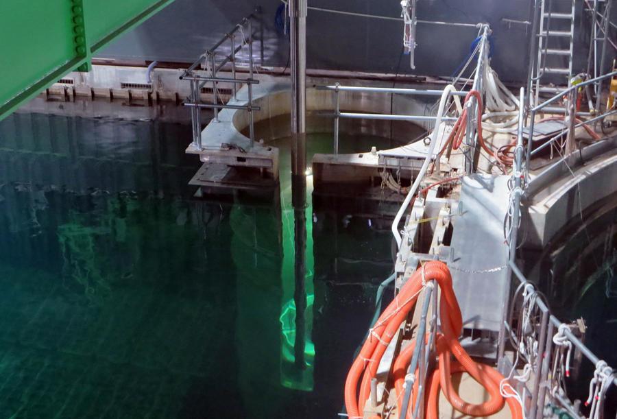 На японской АЭС «Фукусима-1» отключилась система очистки радиоактивной воды