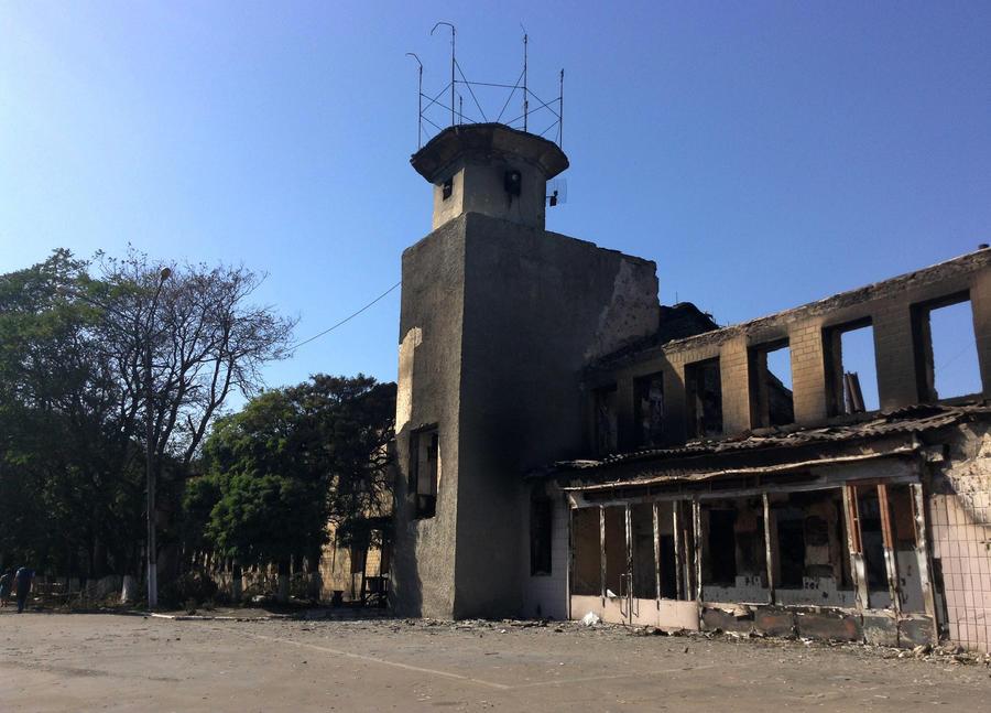 Первая ночь перемирия на востоке Украины прошла спокойно
