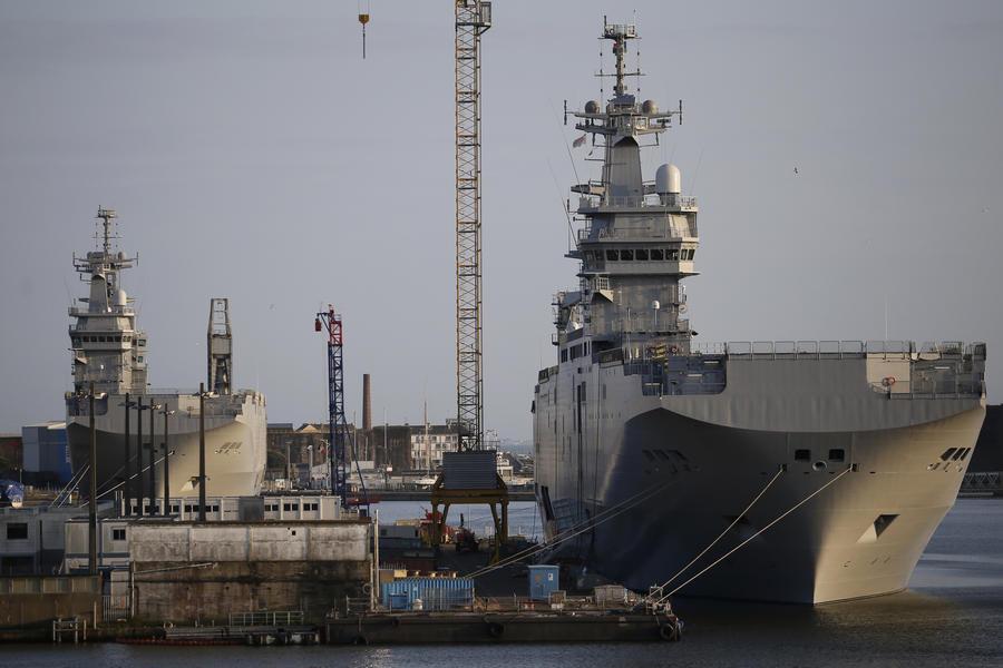 Минобороны РФ: Россия готова продать Египту оборудование для «Мистралей»