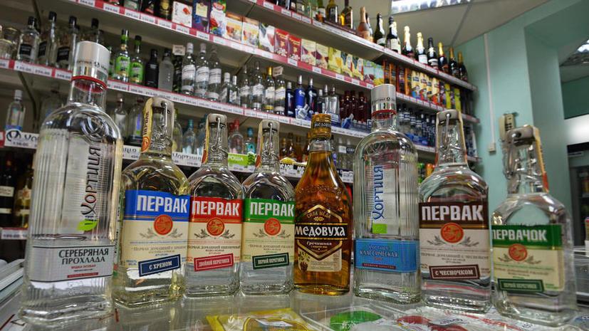 На бутылках с алкоголем в РФ могут появиться устрашающие картинки