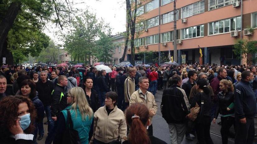 Сотрудники одесского управления милиции отпустили задержанных в ходе столкновений 2 мая