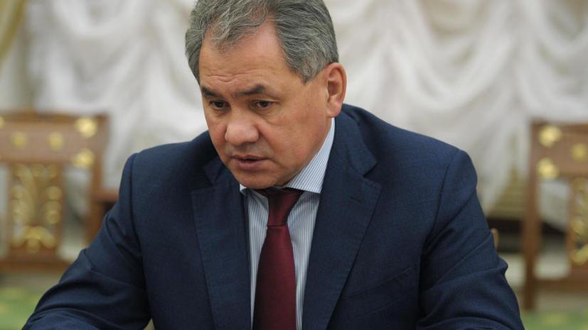 Сергей Шойгу: На Украине применили сценарий «арабской весны»