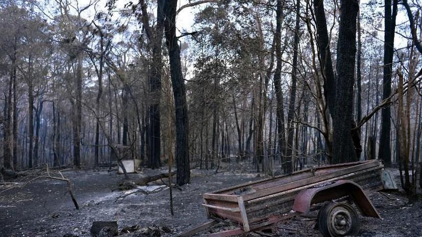 Учения австралийских военных спровоцировали природные пожары