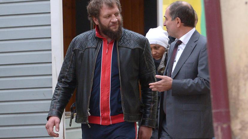 Промоутер Александра Емельяненко обвинил бойца в избиении постояльцев голландского отеля