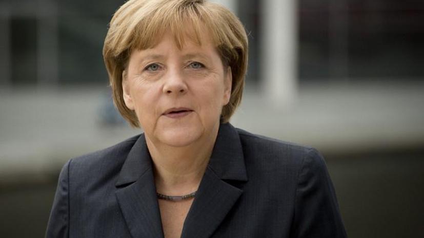 Меркель: Интернет-компании должны сообщать о сотрудничестве со спецслужбами