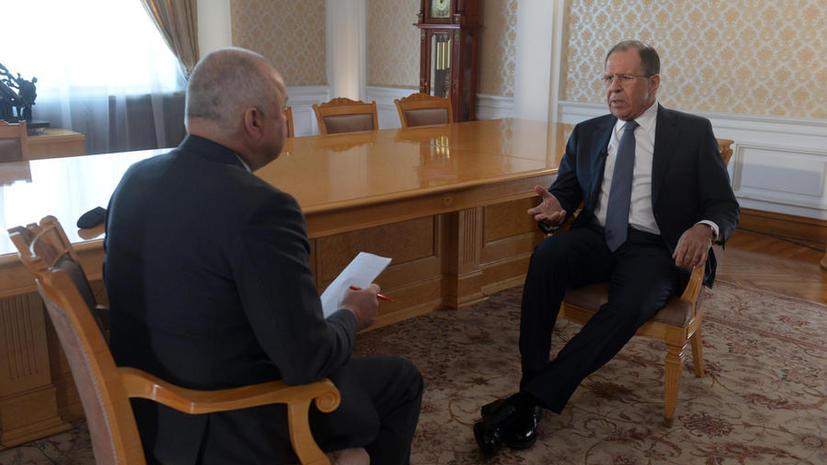 Сергей Лавров: Ключ к хорошим отношениям России и ЕС в руках Киева