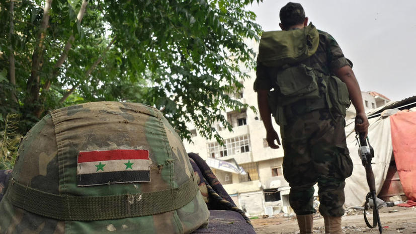 Сирийские войска преследуют боевиков под Дамаском