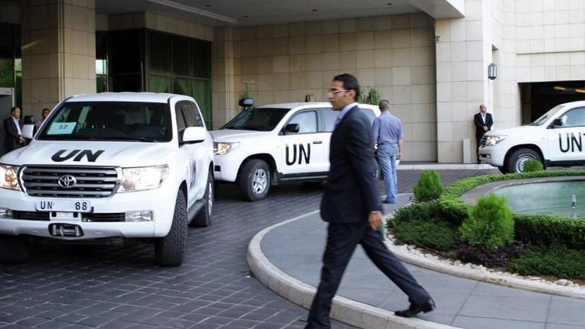 AFP: международные эксперты приступили к уничтожению сирийского химического арсенала