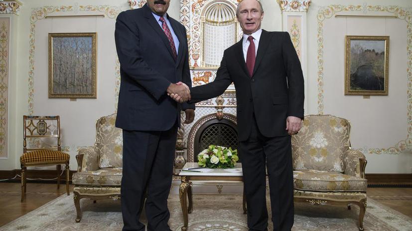 Николас Мадуро: Россия и Венесуэла усилят сотрудничество и обмен технологиями
