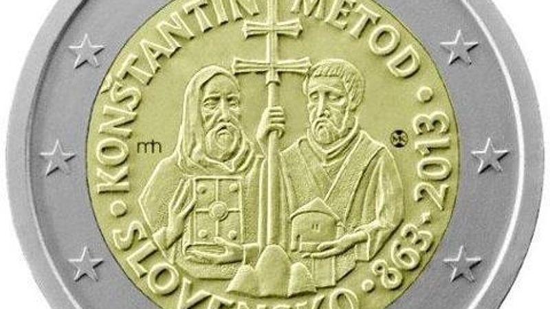 ЕС запретил Словакии печатать христианские кресты на монетах