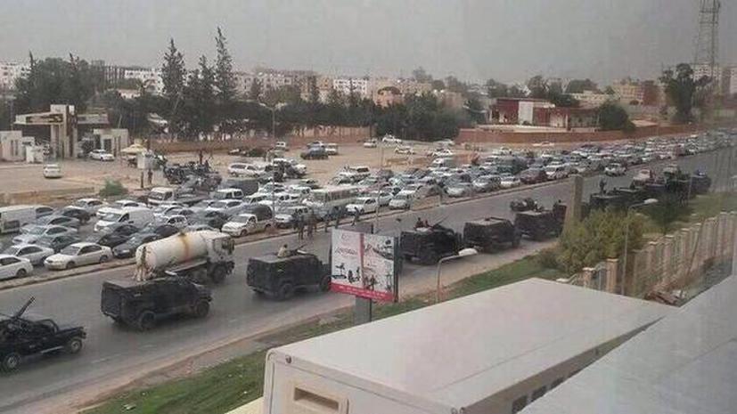 Ливийская армия объявила о приостановке работы временного парламента