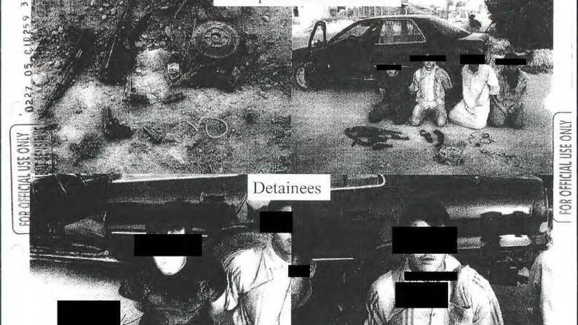 Правозащитники опубликовали фото свидетельств пыток заключённых армией США