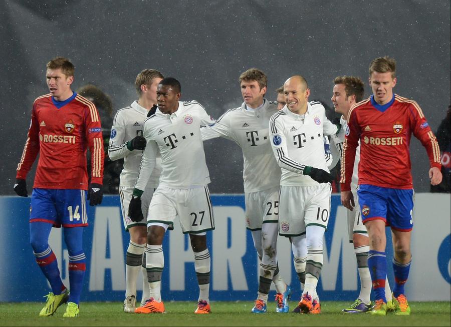 Пятый тур Еврокубков: ЦСКА проиграл, «Зенит», «Анжи» и «Рубин» сыграли вничью, «Кубань» одержала победу