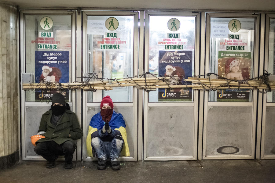 Все станции метро Киева закрыты