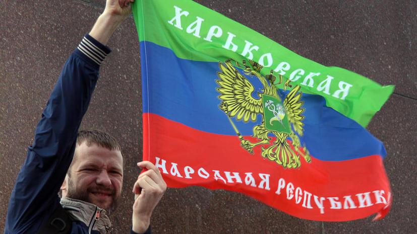 В Харькове прошли демонстрации по случаю Первомая
