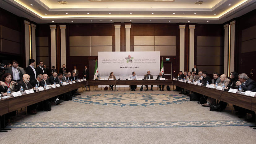 Сирийская оппозиция выбрала премьер-министра