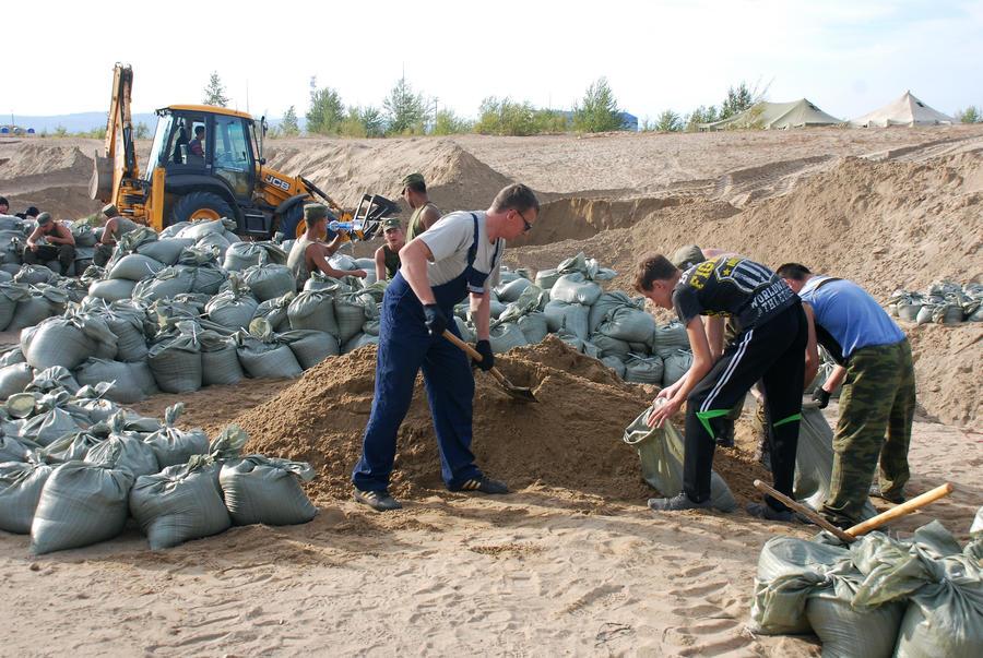 МЧС: Уровень воды в Комсомольске-на-Амуре остановился