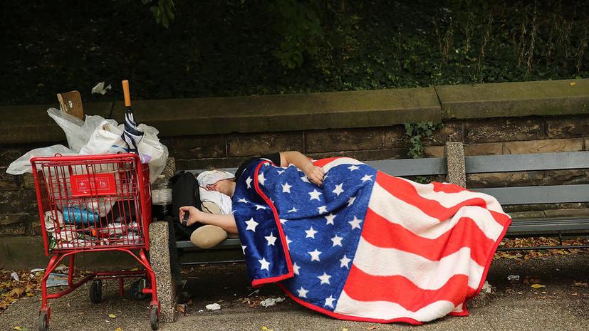 В США власти лишили бездомного страховки за честный поступок