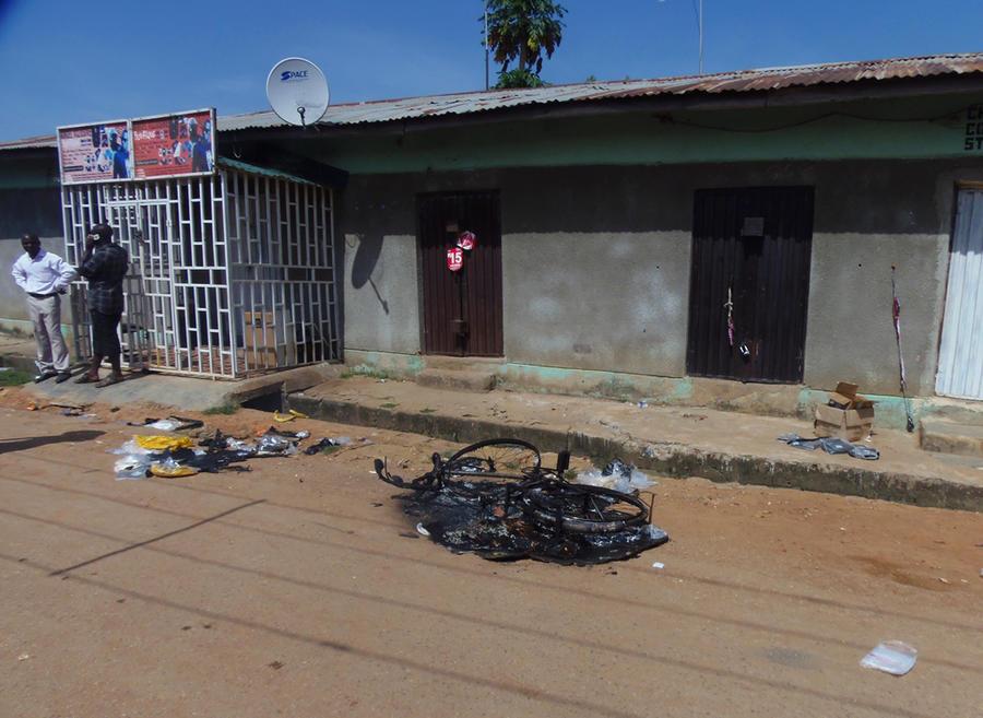 Серия взрывов в Нигерии унесла жизни 25 человек