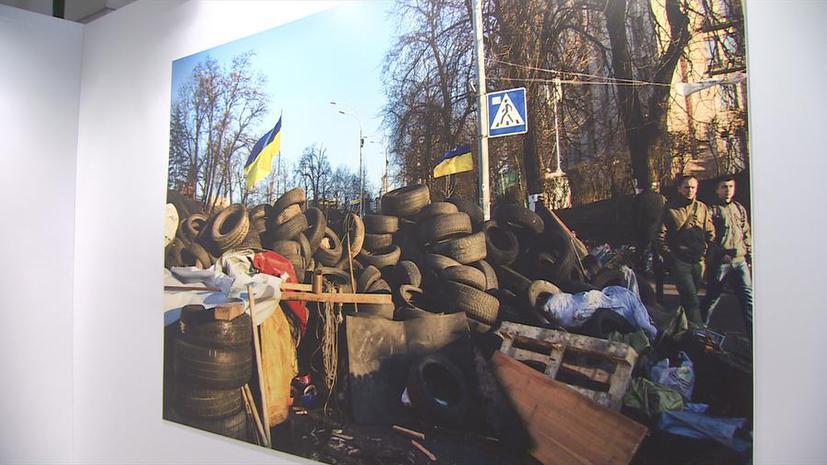От формы «Беркута» до арматуры радикалов: в Музее Москвы открылась выставка артефактов Майдана