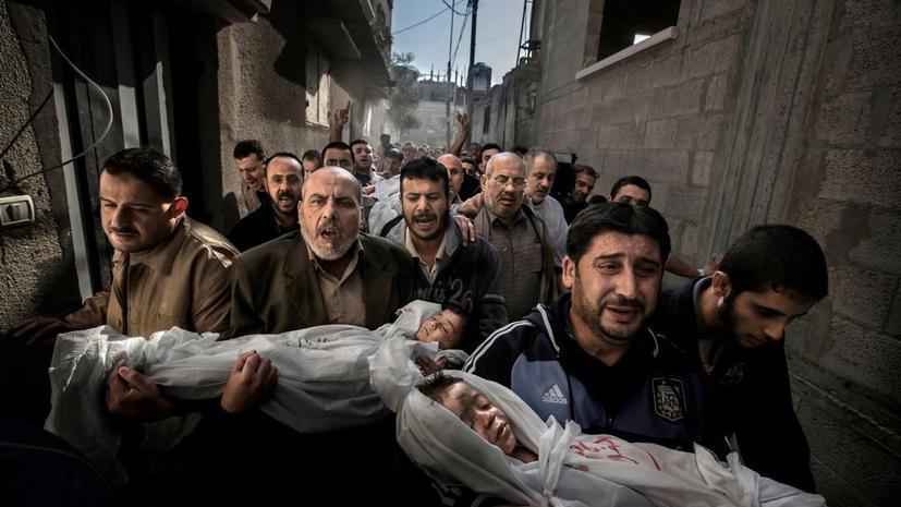 Кадры погибших детей из Сектора Газа принесли фотографу победу на World Press Photo