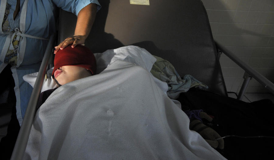 В США 3-летний ребенок выстрелил себе в голову и выжил
