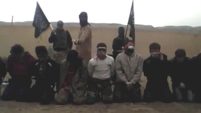 Сирийские исламисты расстреляли 11 пленников на берегу Евфрата по законам шариата